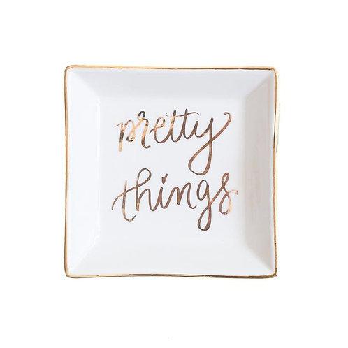Pretty Things Jewelry Dish | Sweet Water Decor