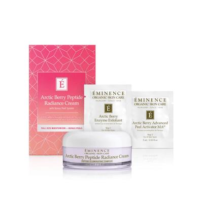 Arctic Berry Peptide Radiance Cream (with Bonus Peel System) Gift Set