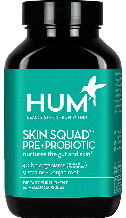 Skin Squad Pre+Probiotic | HUM Nutrition