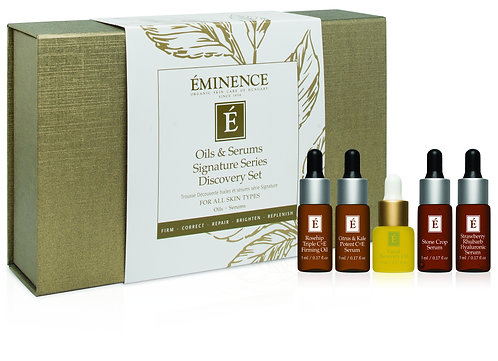 Oils & Serums Signature Series Discovery Set