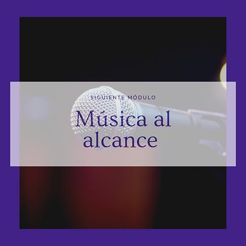 Música al alcance (Módulos)