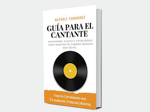 """Libro electrónico """"Guía para el Cantante"""""""