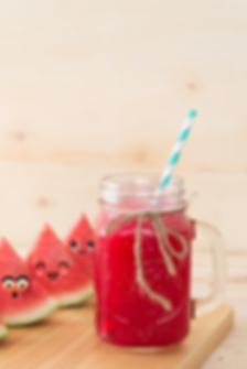 natural watermelon juice