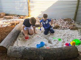 Children playing Nature Play Speech Pathology Kids Perth Cloverdale
