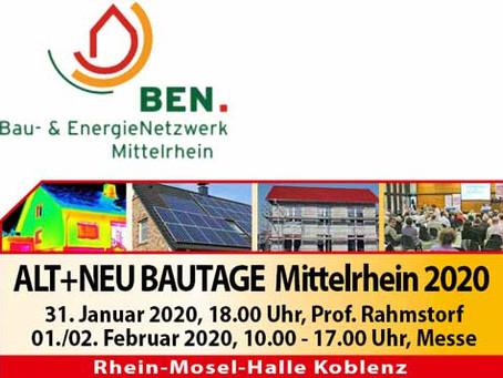 Ausstellung auf den Alt+Neu Bautagen Mittelrhein 2020