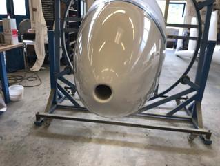 1st milestone to the maiden-flight - finish of fuselage