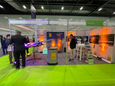 Dreiklang auf der DroneX Helitech 2021 in London