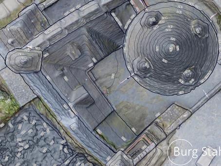 3D Aufnahme und Vermessung der Burg Stahleck
