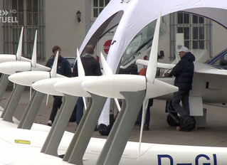 Antares E2 on the annual German Gliders Day 2018