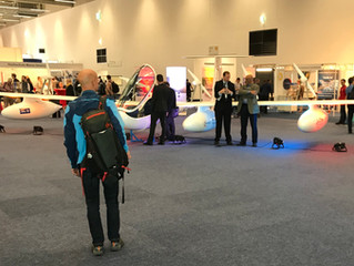 Antares E2 as live attraction at Intergeo 2018