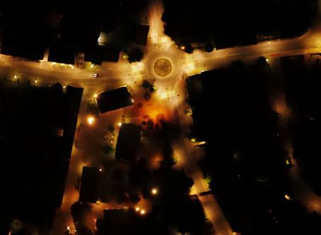 Untersuchung Lichtverschmutzung mit UAV