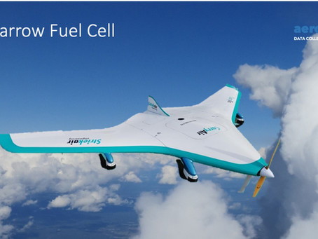 AeroDCS entwickelt UAV mit Wasserstoffantrieb.