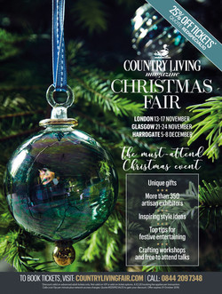 COUNTRY LIVING FAIR: ADVERT FOR RED MAGAZINE