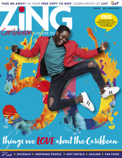 LIAT AIRLINES: ZING COVER