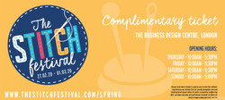 THE STITCH FESTIVAL: COMPLIMENTARY TICKET