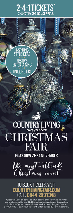 COUNTRY LIVING FAIR: ADVERT FOR SCOTTISH WOMAN