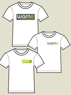 WARNE ELECTRICAL SOLUTIONS: T SHIRT DESIGNS