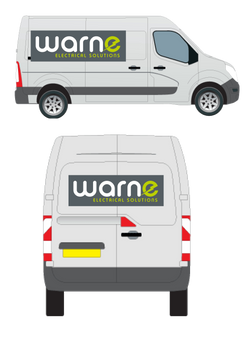 WARNE ELECTRICAL SOLUTIONS: VEHICLE LIVERY