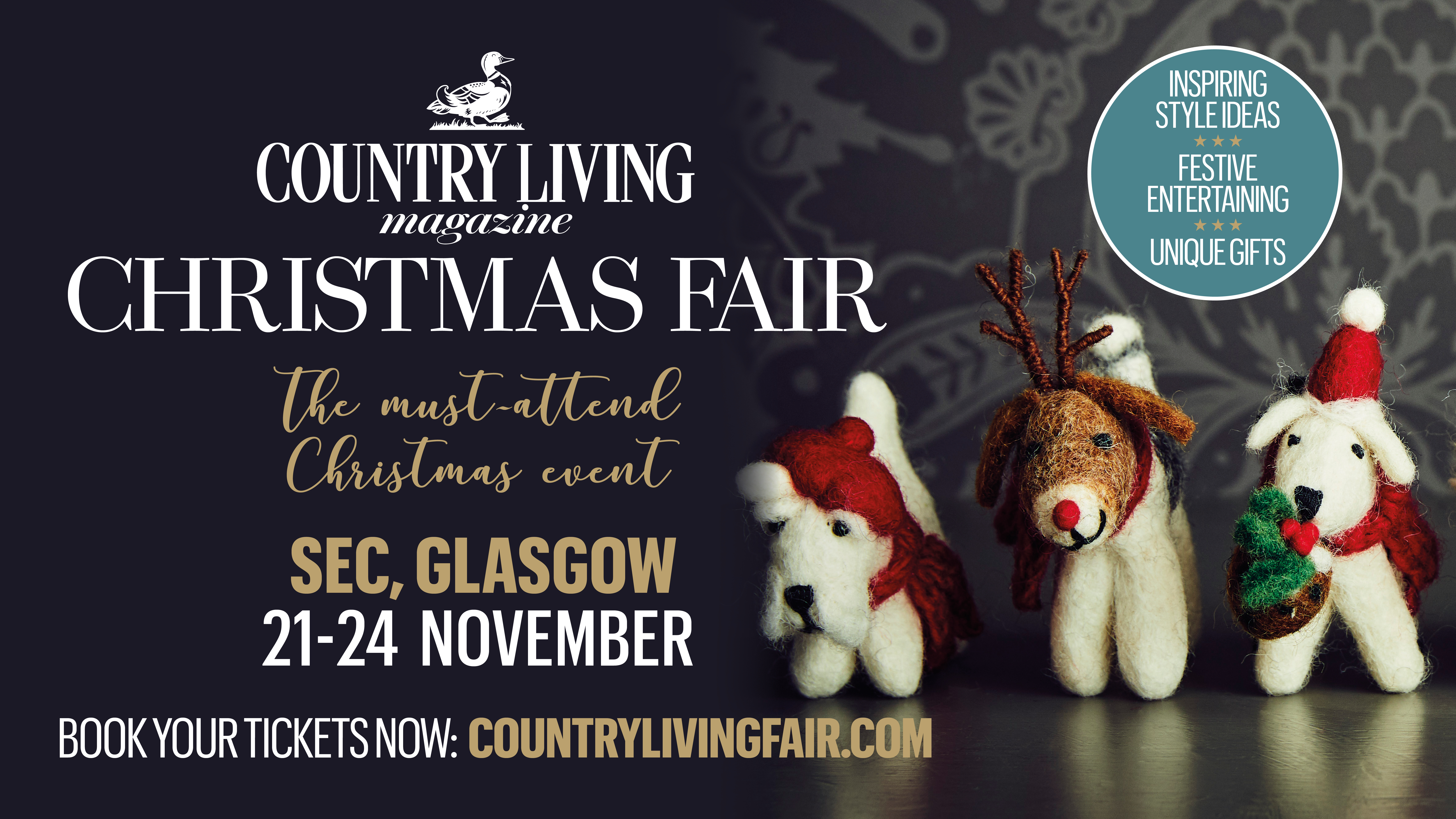 COUNTRY LIVING FAIR: POSTER