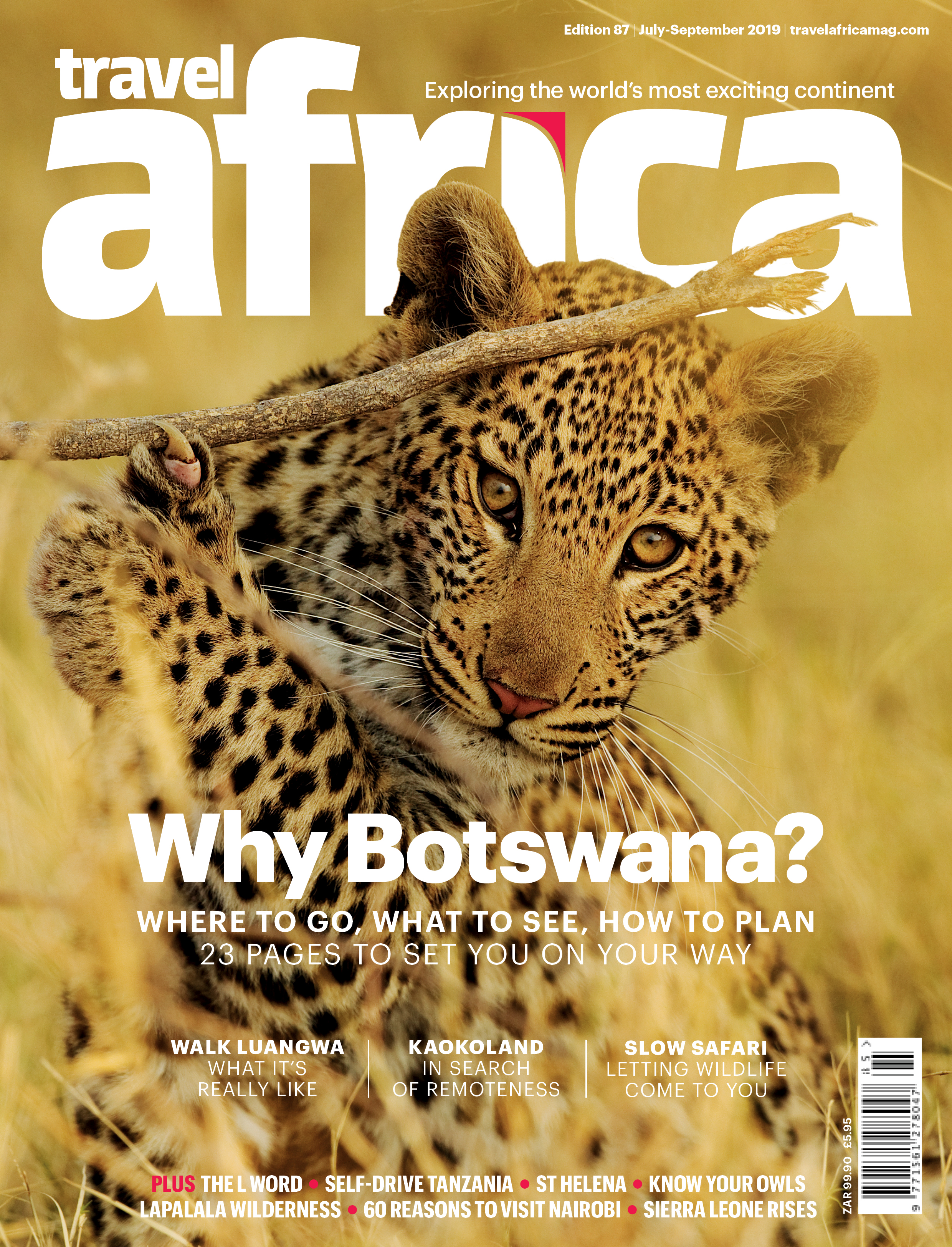 TRAVEL AFRICA: COVER