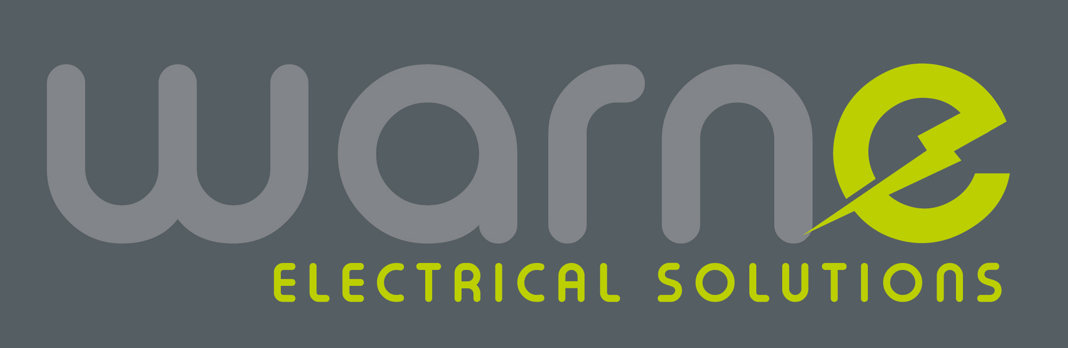 WARNE ELECTRICAL SOLUTIONS: LOGO IN GREY