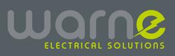 WARNE ELECTRICAL SOLUTIONS: LOGO IN GREY