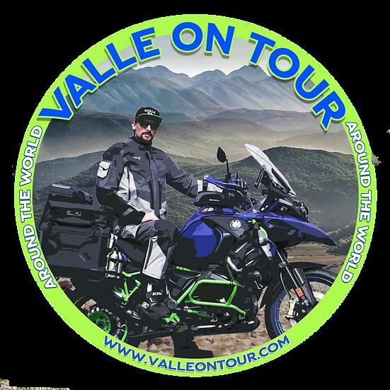 Valle on Tour Aufkleber