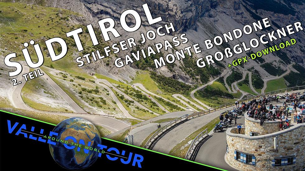 Download (GPX): Südtirol Teil 2 inkl. Dolomiten, Lombardei, Trentino, Kärnten