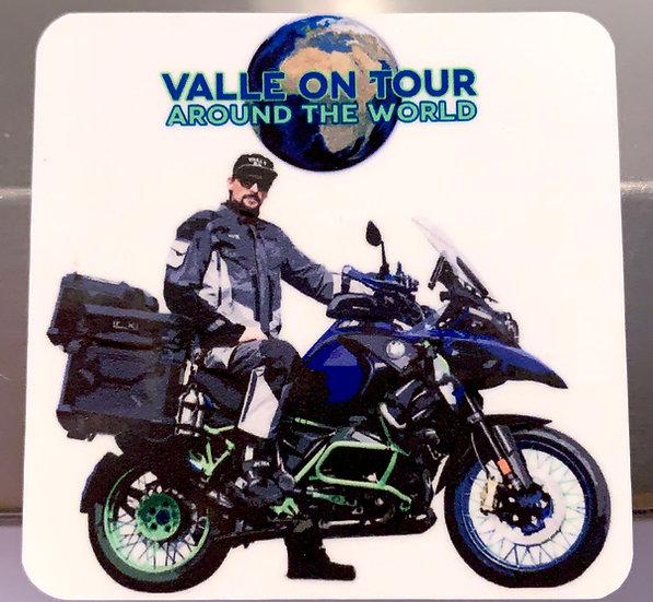 Valle on Tour Magnetsticker