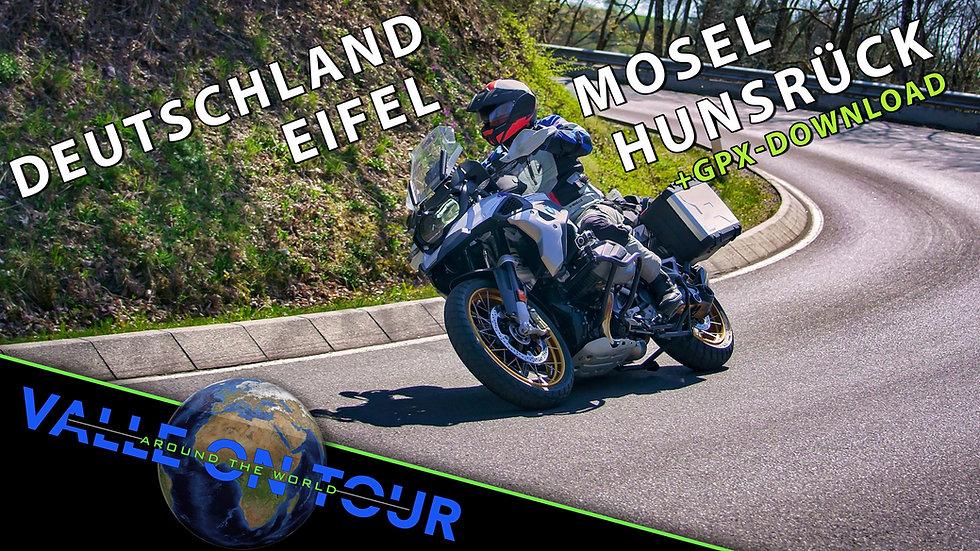 Download (GPX): Eifel, Mosel & Hunsrück