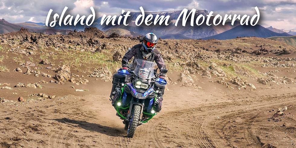 """Multimedia-Reisevortrag: """"Island mit dem Motorrad"""" in München"""