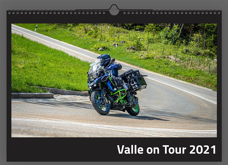 Valle on Tour Kalender 2021 (DIN A3)