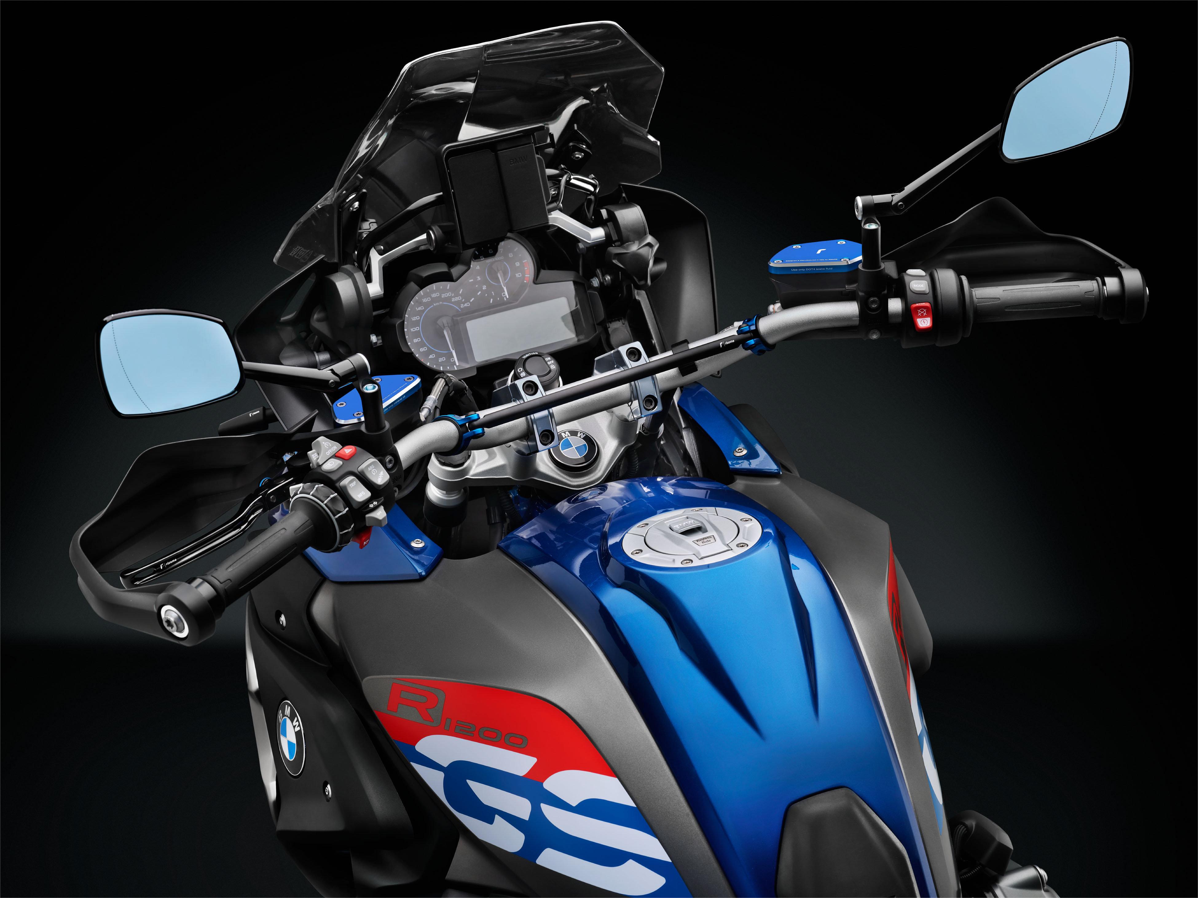 R/ückspiegel Set kompatibel mit BMW R 1200 HP2 Megamoto 2x Spiegel BMW R 1200 HP2 Enduro V20