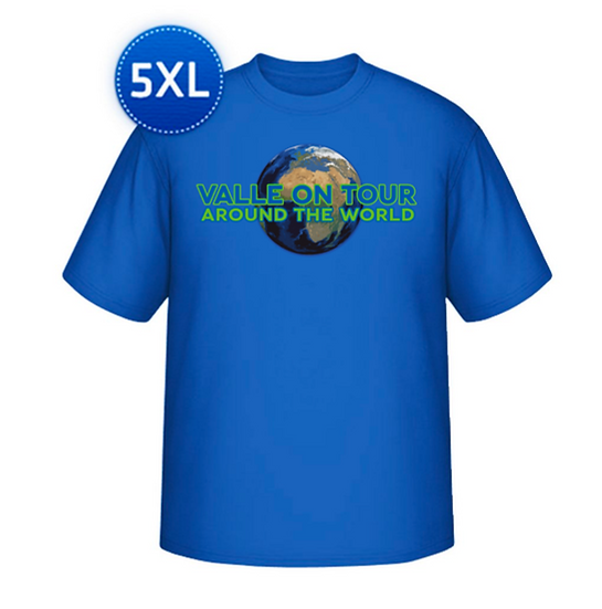 Valle on Tour T-Shirt aus Baumwolle für Männer in großen Größen