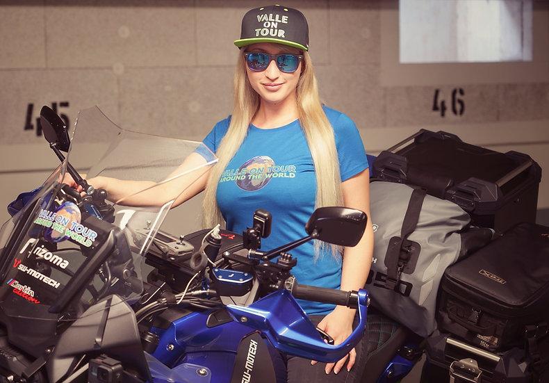 Valle on Tour T-Shirt aus 100% Biobaumwolle für Frauen