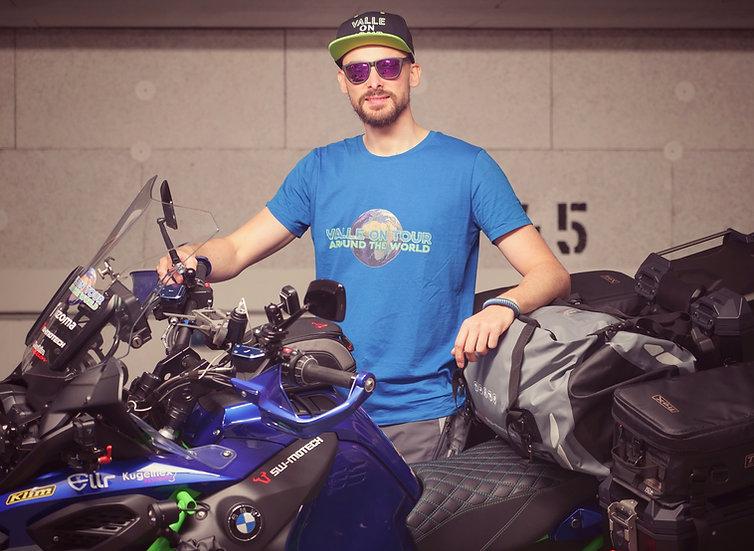 Valle on Tour T-Shirt aus 100% Biobaumwolle für Männer