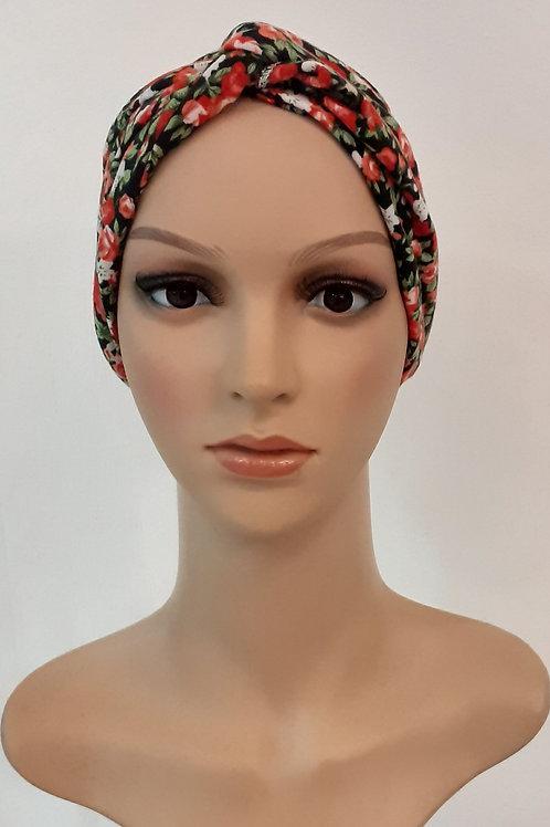 Turbante Algodón Estampado Floral