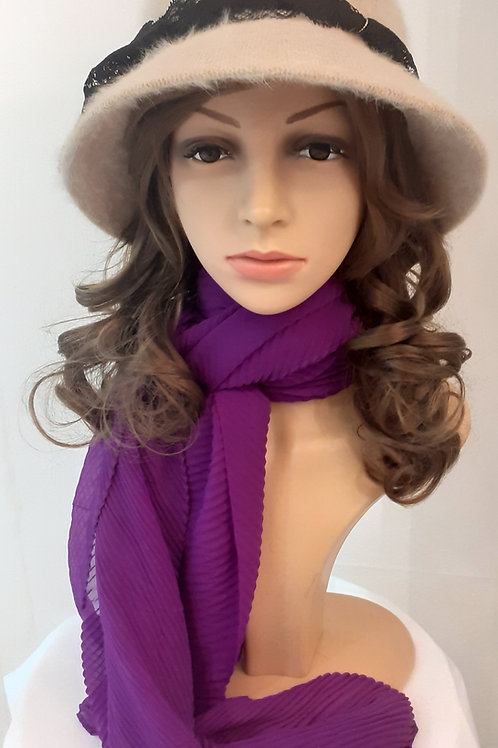 Sombrero Invierno Fieltro Beige