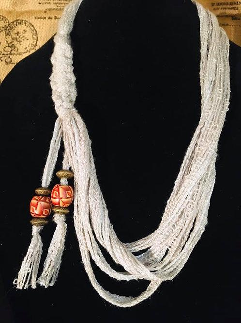 Grey Loop Necklace