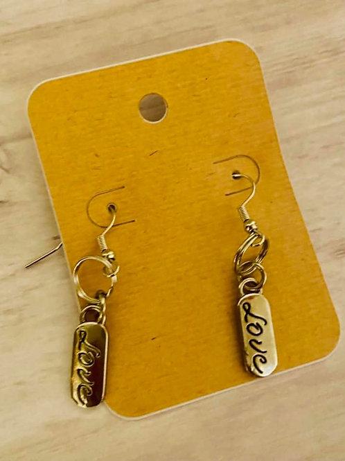 """""""Love"""" Earrings"""