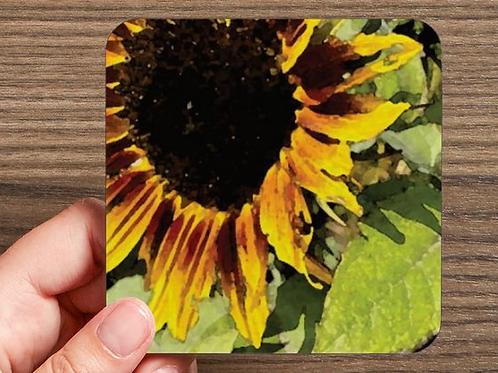 Sunflower D Coaster