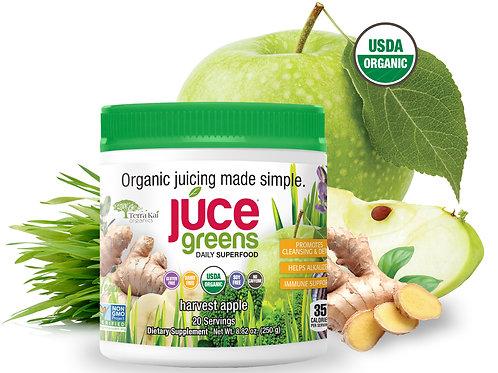 JUCE GREENS, Harvest Apple - Daily Fruit & Veggie Superfood (20 Servings)