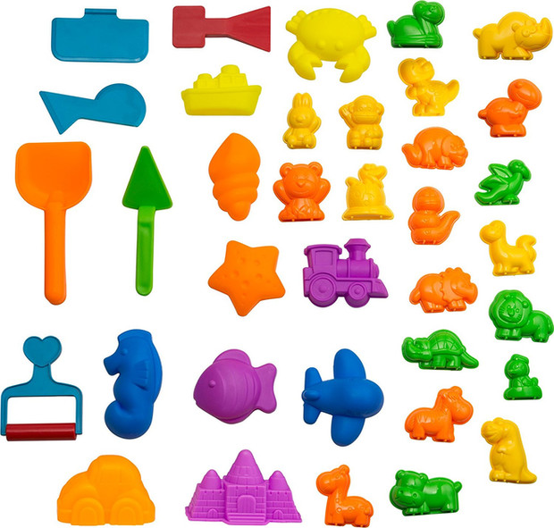 Animal Sand Molds and Tools Kit (36 Pcs)