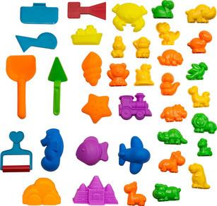 Animal Sand Molds and Tools Kit (36 Pcs)