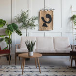 Interiors of the future in the eco trend