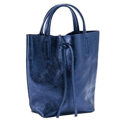 Andrea Cardone Italia პატარა Tote ჩანთა ლურჯი