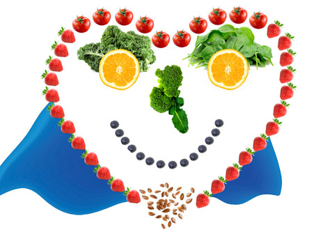 Superhero Fruits and Vegetables for a Healthy Heart