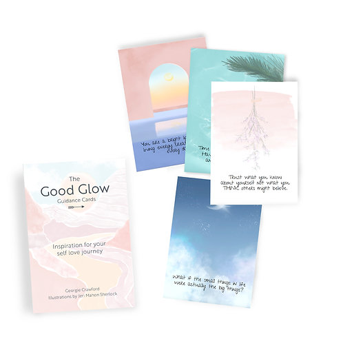 The Good Glow Guidance Cards