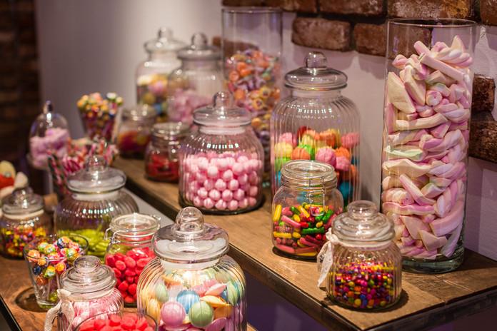 Hochzeitslocation-Candy-Bar