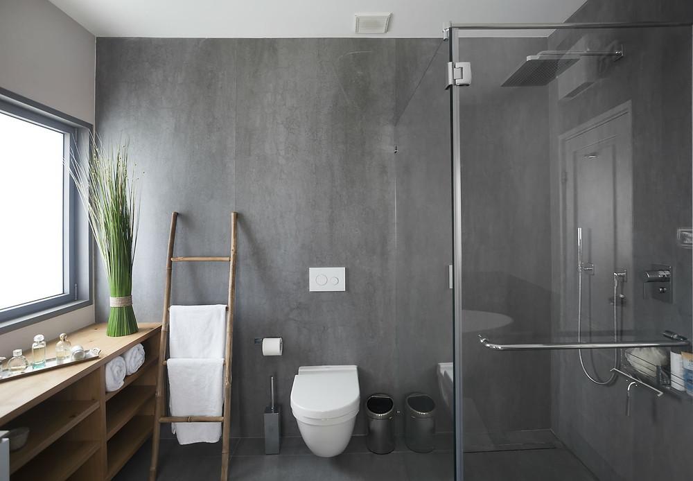 עיצוב לחללים רטובים ומטבח מודרני